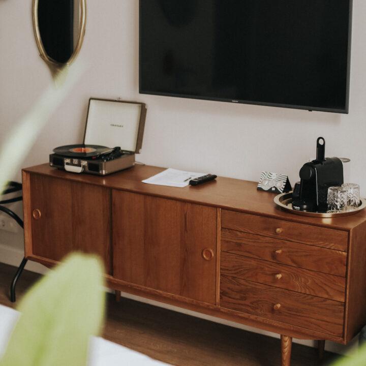 Boudoir in hotelkamer