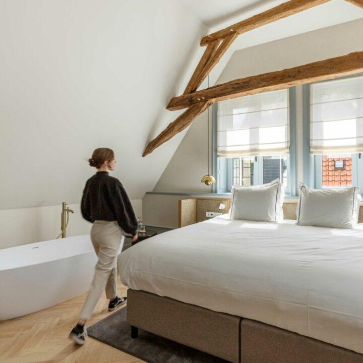 Aparthotel Hattem - slaapkamer